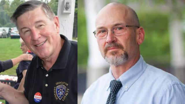 Putnam County Sheriff Don Smith and his challenger Robert Langley.