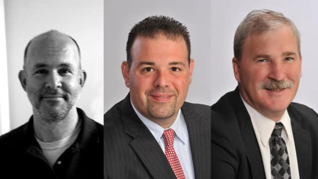 Michael Nolan, Nicholas D'Allesandro and Peter Cassidy are three of the people running for East Fishkill Town Board.