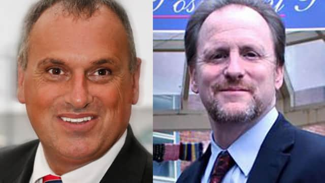 Mayor Frank Catalin and Ken Martin are facing off for mayor of Peekskill.