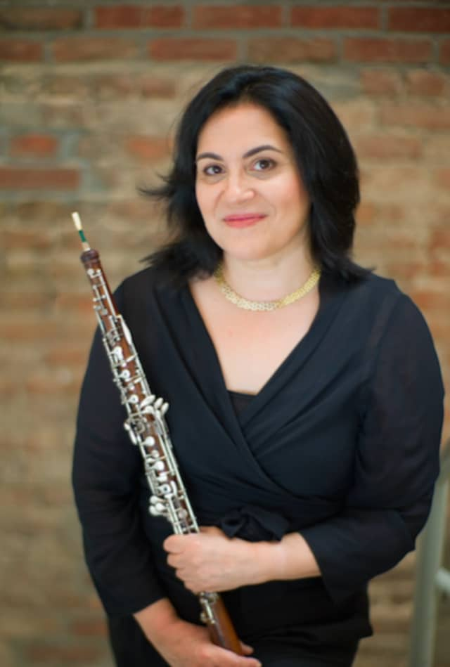 Diane Lesser, oboist, will perform at SPACE on Ryder Farm on July 23.