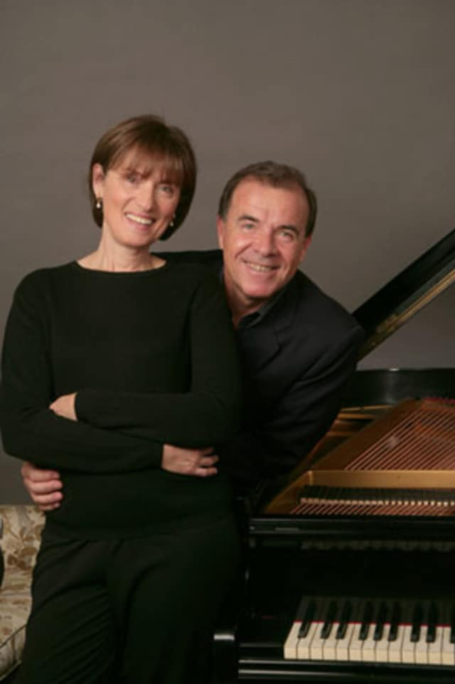 "Renowned pianists Misha and Cipa Dichter of North Salem will perform ""An Evening of Piano Four Hands"" featuring the works of Mozart and Schubert as part of the Bedford Chamber Concerts' 2016-2017 series at St. Matthew's in Bedford on March 22.."