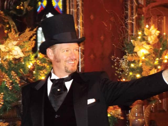 """Mr. Dickens Tells 'A Christmas Carol'"" at Lyndhurst Dec. 14-30. Courtesy M&M Productions."