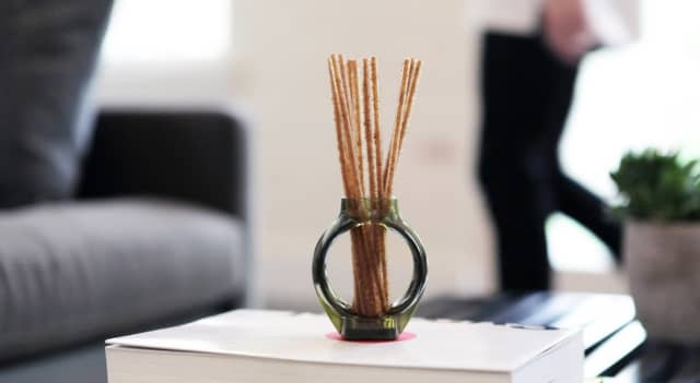 Alio's oil-free reed diffusers emit fresh scents throughout the day.