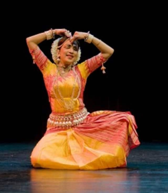 """Learning a traditional dance is part of """"India Children's Day: A Hands-on Celebration of Diwali."""""""