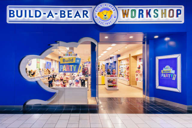 The new look for the Build-a-Bear Workshop which his coming to the Trumbull Westfield Mall.