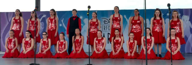 The 2016 Saddle River Youth Theatre Disney Showchoir at Waterside Stage.