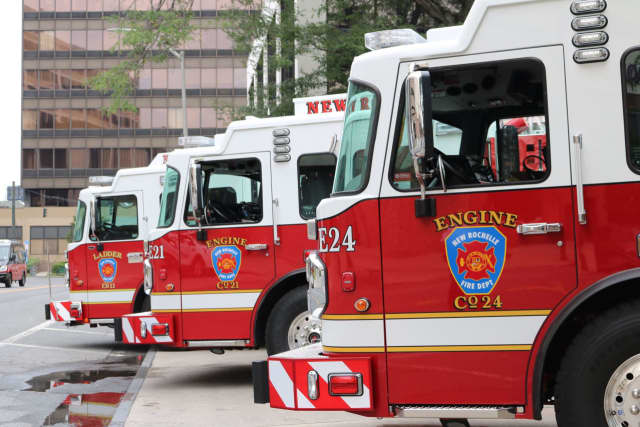 New Rochelle Fire Department.