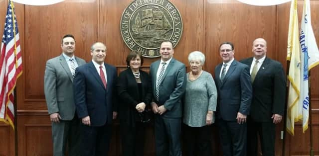 Edgewater's 2016 Mayor and Council.