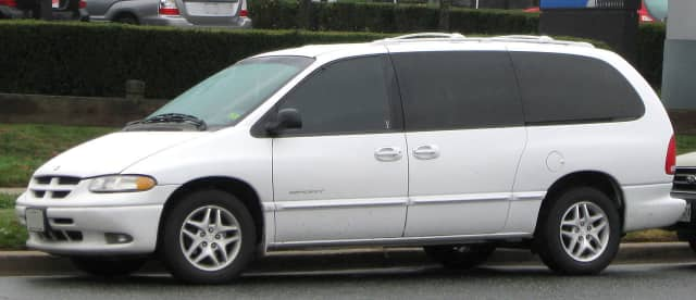 Red Hook police are looking for a stolen van similar to this one.