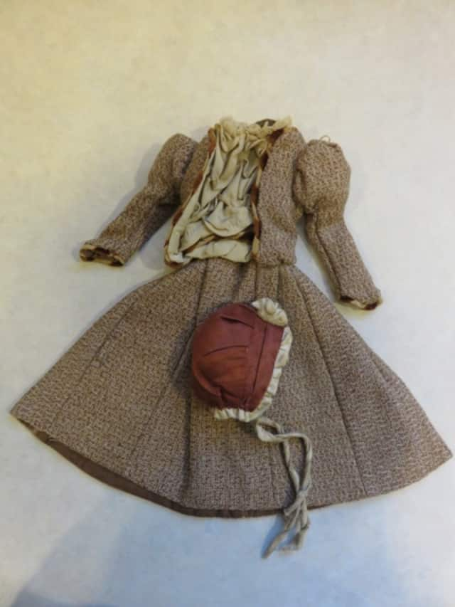 The Keeler Library will have vintage doll clothing on display.