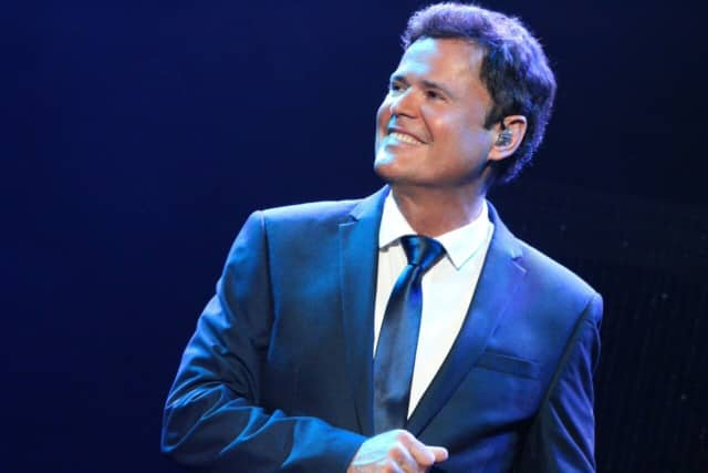 Donny Osmond will perform two shows at the Ridgefield Playhouse on March 11.