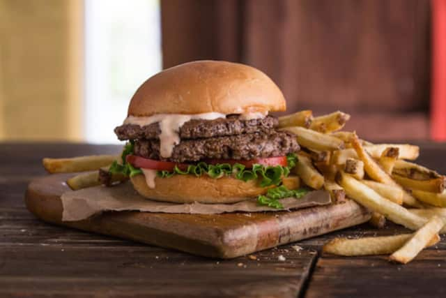 Burgers at Moohyah Burger.
