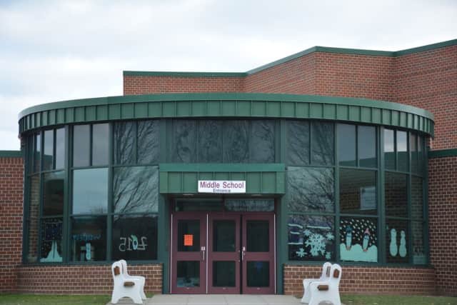 Dover Middle School is the site of the school budget and board election.