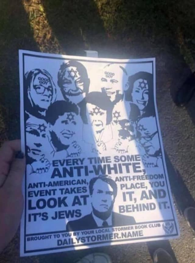 Hateful fliers were posted on a pair of Hudson Valley college campuses.
