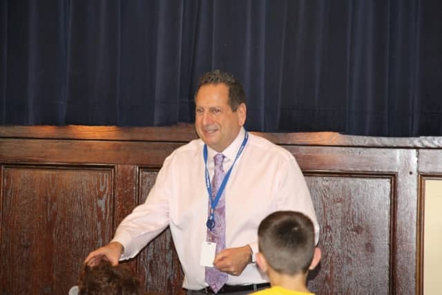 Dr. Richard Limato and Prospect Hill Elementary School were recently honored by the Institute for Habits of Mind.