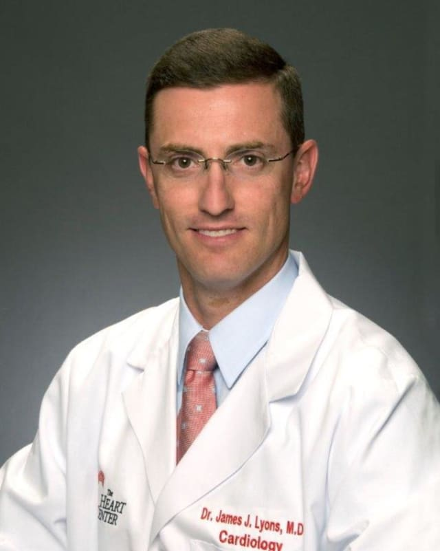 Dr. James Lyons will discuss a new FDA-approved device for those suffering from heart failure at 2 p.m. Dec. 8.