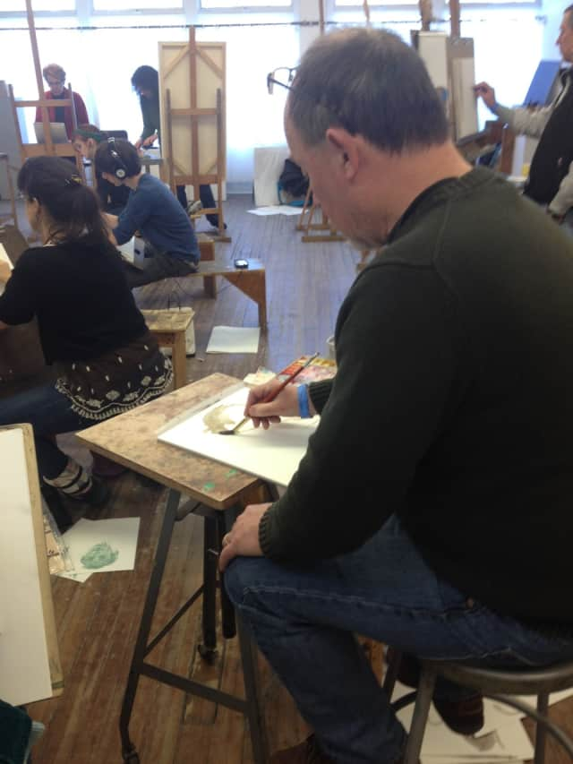 New Canaan's Silvermine School of Art will host a Draw Until You Drop! event on April 2.