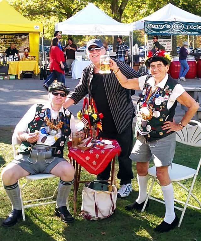 Dressing up -- as these folks did in 2015 -- surely isn't required to attend Oktoberfest, but it adds to the festivities.