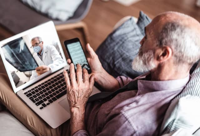 """Surgery is the definition of """"hands-on"""" care—so in this new world of telemedicine, how are doctors adapting? One surgeon pulls back the curtain."""