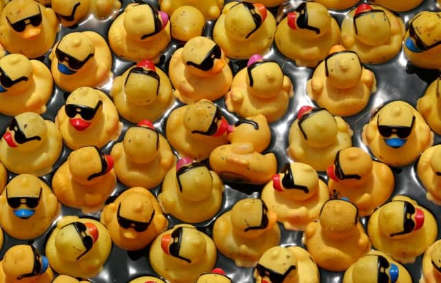 The Duck Derby will benefit first responders