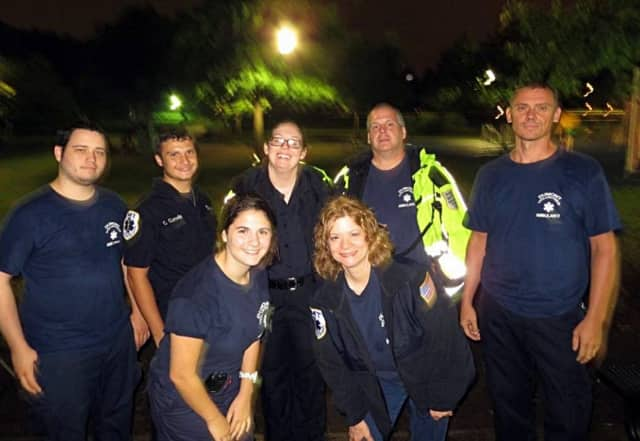 The Dumont Volunteer Ambulance Corps is walking in Dumont's Relay for Life.