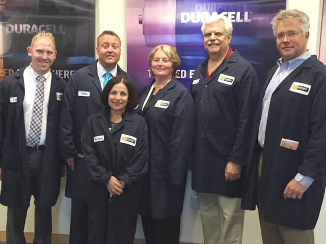 Local legislators recently toured Duracell's facility in Bethel.