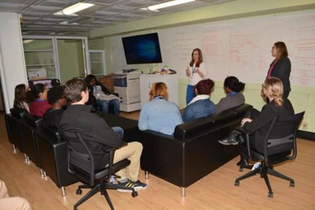 Students from seven high schools across Dutchess County visited Central Hudson Gas & Electric Corp. as part of a Career Shadow Day.