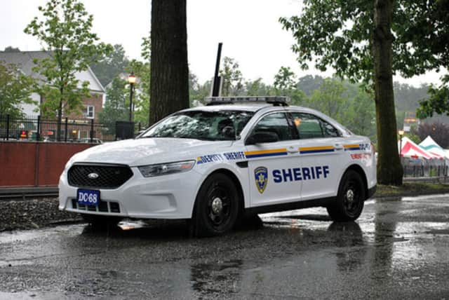 Dutchess County Sheriff's car.