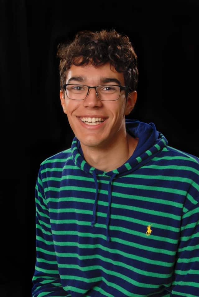 Beauregard Duval, 18, of Staatsburg, just graduated from Oakwood Friends School in Poughkeepsie. He will study the environment at the University of Vermont.
