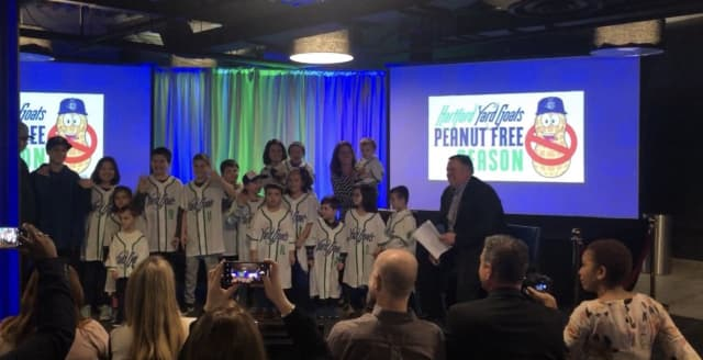 The Hartford Yard Goats announced that they will be peanut and Cracker Jack free next season.
