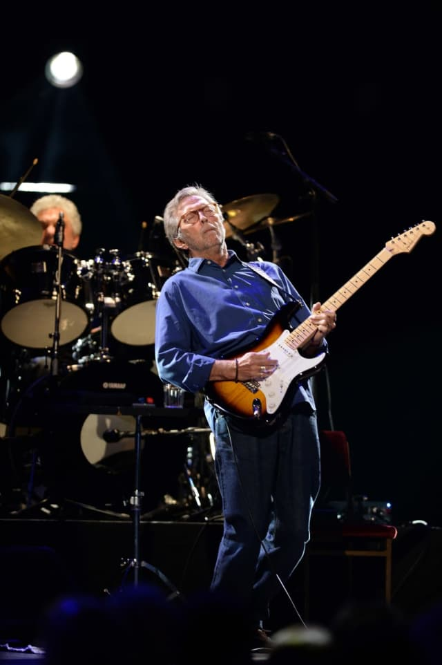 Eric Clapton will be the headliner at this year's annual Greenwich Town Party.