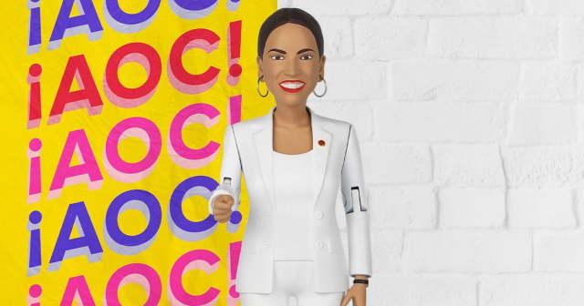 Alexandria Ocasio-Cortez is getting her own action figure.