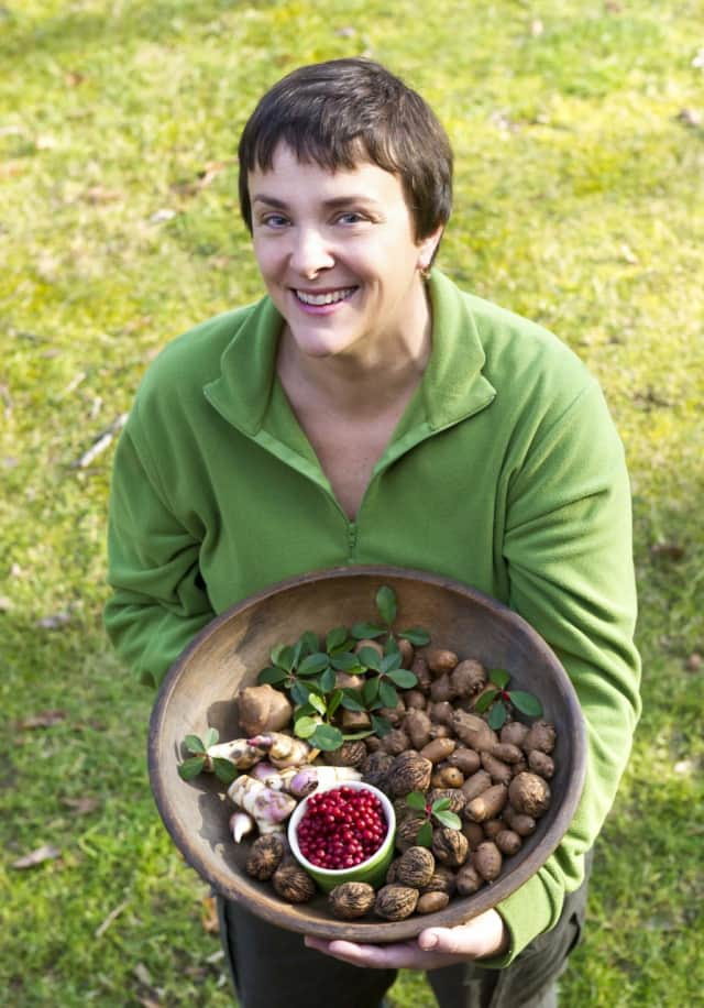Author Ellen Zachos will present a program on foraging for great things to eat on April 10 at the Katonah Library.