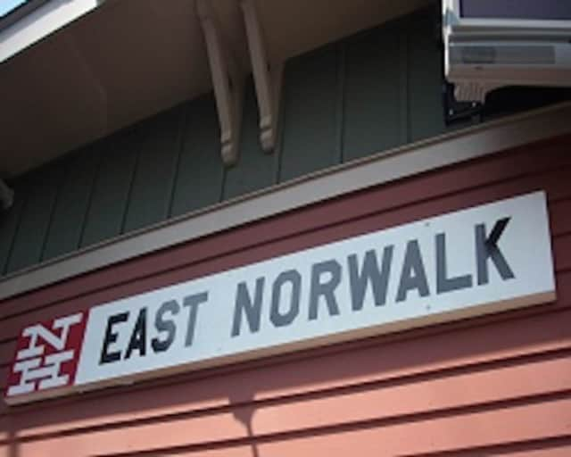 East Norwalk train station