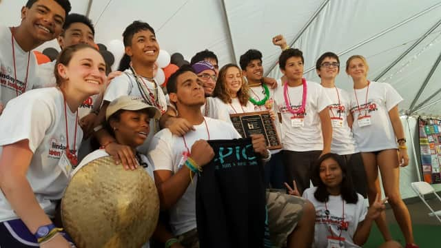 Garfield Prevention Coalition's EPIC (Empowering Peers & Inspiring Change) received an award from the Lindsey Meyer Teen Institute.