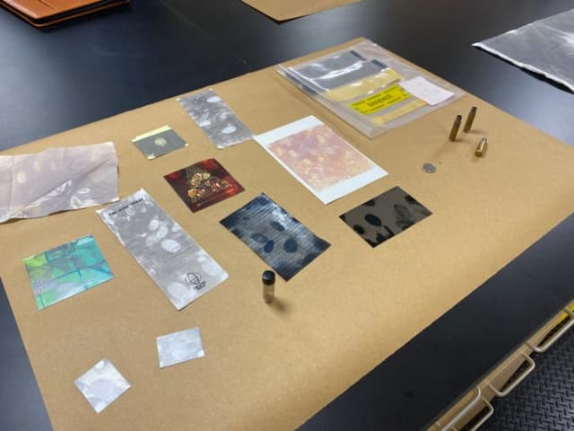 Some of the items the system can pick up fingerprints from.