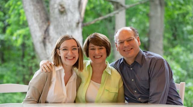 Former presidential hopeful Amy Klobuchar announced her husband tested positive for COVID-19.