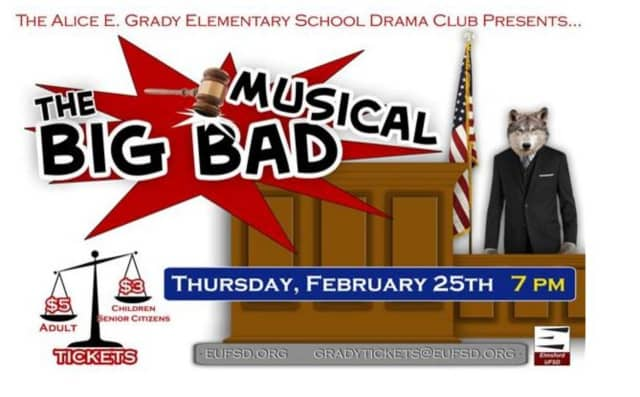 """Elmsford is performing """"The Big Bad Musical."""""""