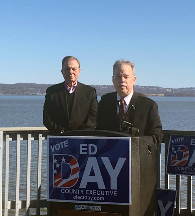 Rockland County Executive Ed Day announced Monday he'll seek a second term this fall.