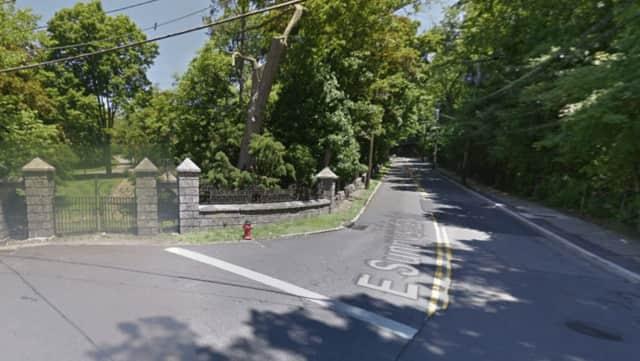 East Sunnyside Lane in Irvington.