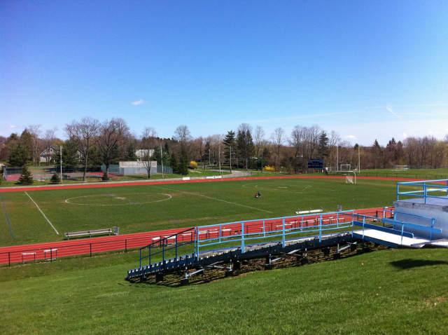The Westlake High School athletic field.