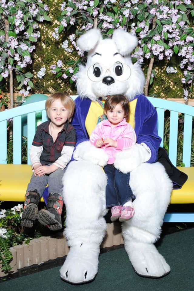The event will include a raffle drawing of popular children's toys and a visit from the Easter Bunny.