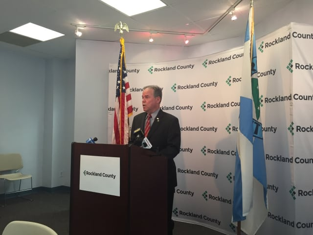 County Executive Ed Day Tuesday called for Rockland to sever ties with a Mamaroneck-based auditing firm that has been cited by the federal government in a fraud case.