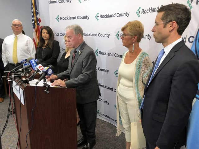 Rockland County Executive Ed Day is among the officials that would see a pay bump.