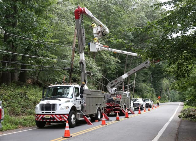 JCP&L working on restoring power to NJ residents after Tropical Storm Isaias.
