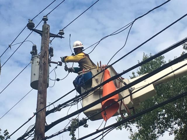 Utility companies have been making progress restoring power to customers in Connecticut who lost after Tropical Isaias barreled through the region.