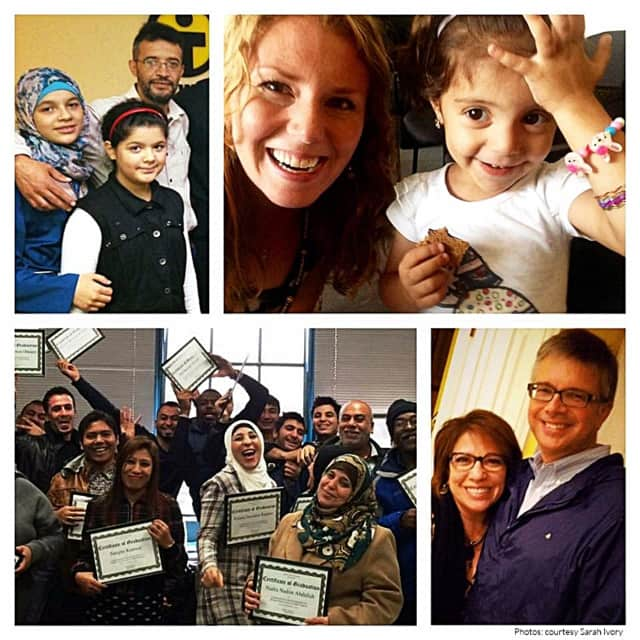 """Eleanor Brooke shared photos and descriptions of her experiences with refugees on the CWS website, in its """"The Syrians I Know"""" series."""