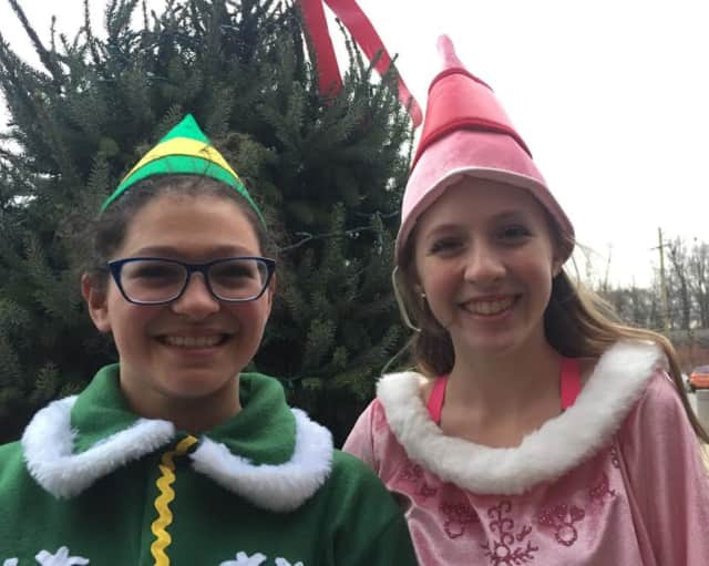 Taline Banks and Gianna Trivisani will star in Elf Jr. at the Wyckoff Family YMCA.