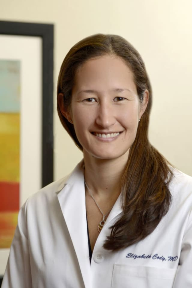 Elizabeth Cody is a foot and ankle surgeon at HSS.