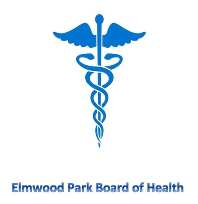 Here's the Elmwood Park Board of Health's logo, on it's brand-new Facebook page.